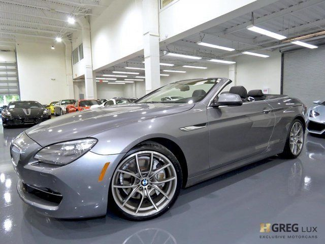 2012 BMW 6-Series (Gray/Black)