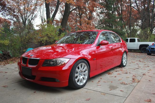 2008 BMW 3-Series (Red/Black)