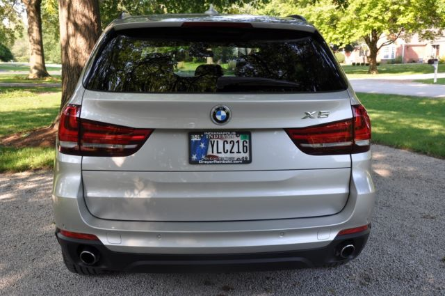 2014 BMW X5 (Silver/Brown)