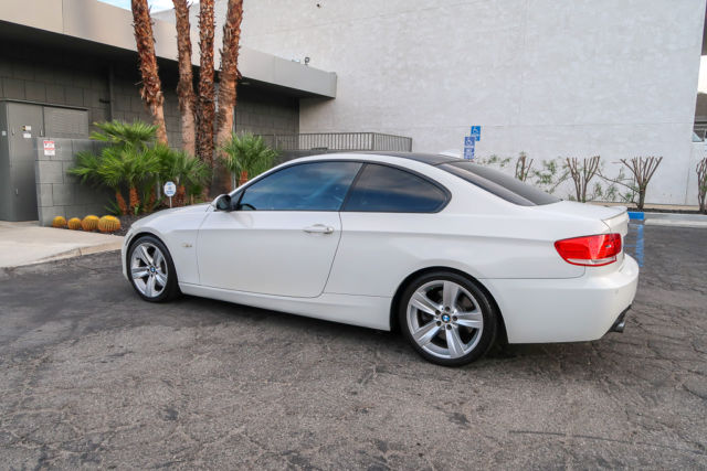 2008 BMW 3-Series (White/Brown)