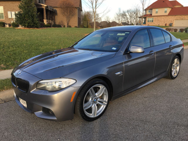 2011 BMW 5-Series (Gray/Brown)