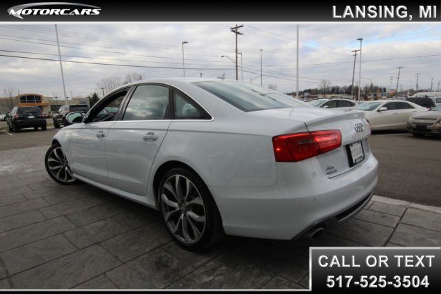 2014 Audi A6 Technik (White/Black)