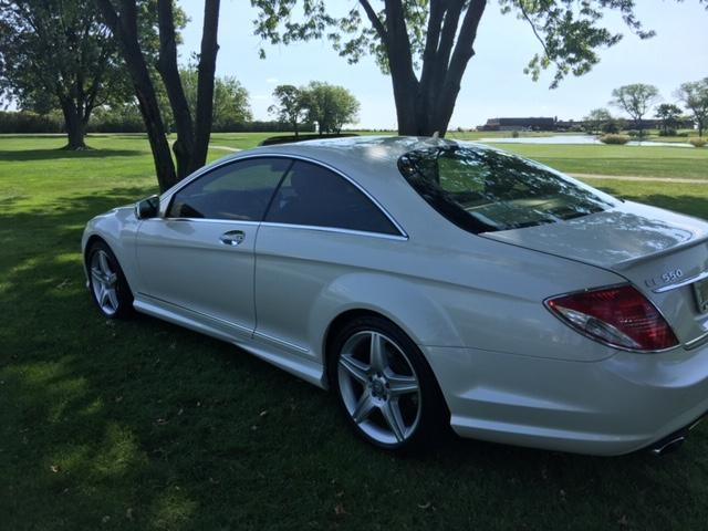 2010 Mercedes-Benz CL-Class (diamond white/Tan)