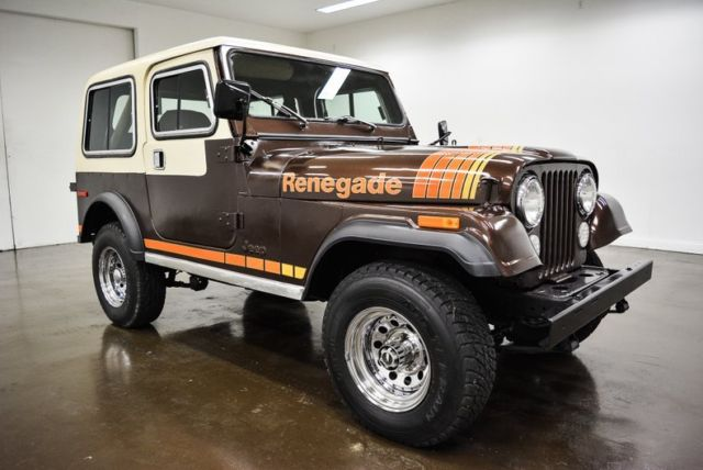 1980 Jeep CJ (Brown/Brown)