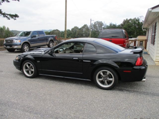 2003 Ford Mustang (Black/Beige)