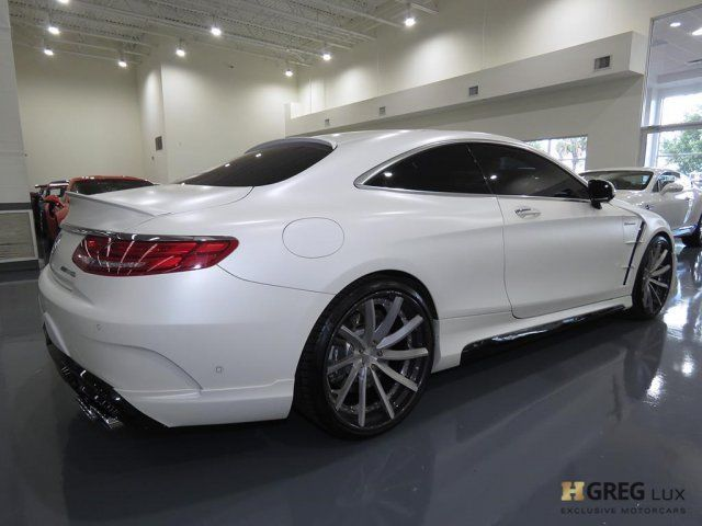 2015 Mercedes-Benz S-Class (White/Black)