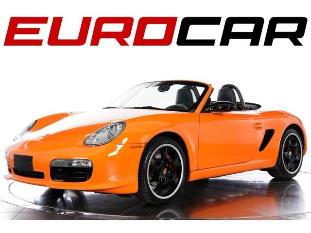 2008 Porsche Boxster (Orange/Black)