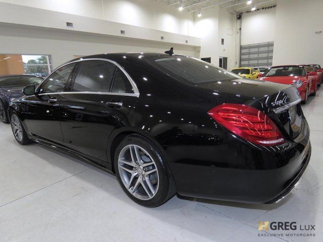 2015 Mercedes-Benz S-Class (Black/Brown)