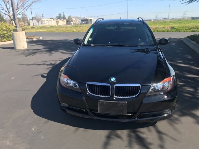 2007 BMW 3-Series (Black/Black)