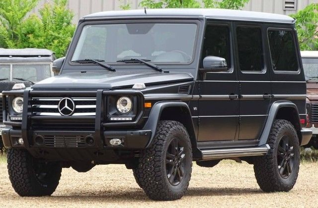 2015 Mercedes-Benz G-Class (Designo Magno Night Black/Black)