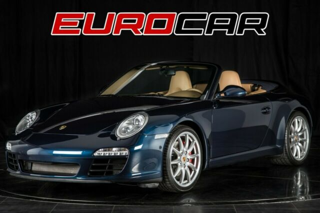 2011 Porsche 911 (Dark Blue Metallic/Sand Beige)