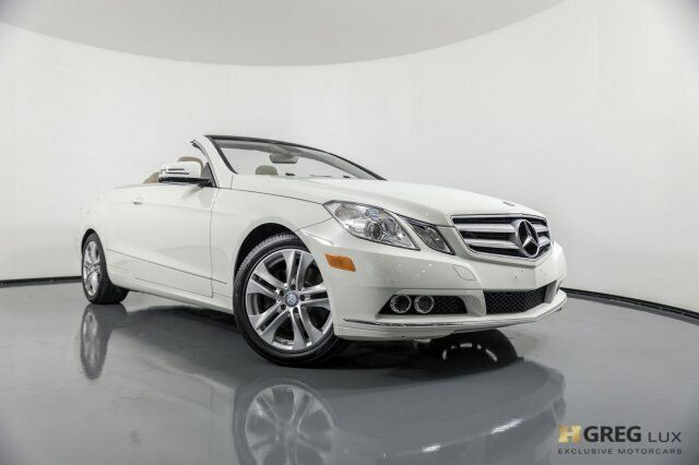 2011 Mercedes-Benz E-Class (White/Almond/Mocha w/Leather Upholstery)
