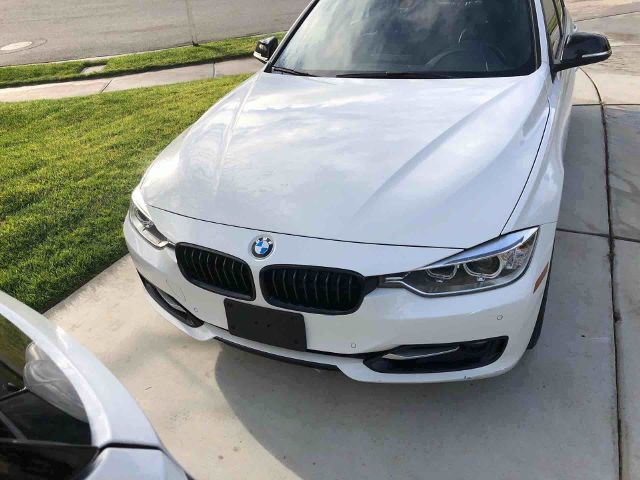 2014 BMW 3-Series (White/Black)