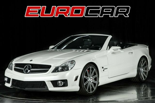2009 Mercedes-Benz SL-Class (Diamond White Metallic/Black)
