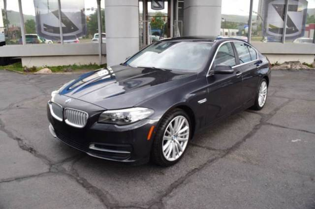 2014 BMW 5-Series (Black/Black)