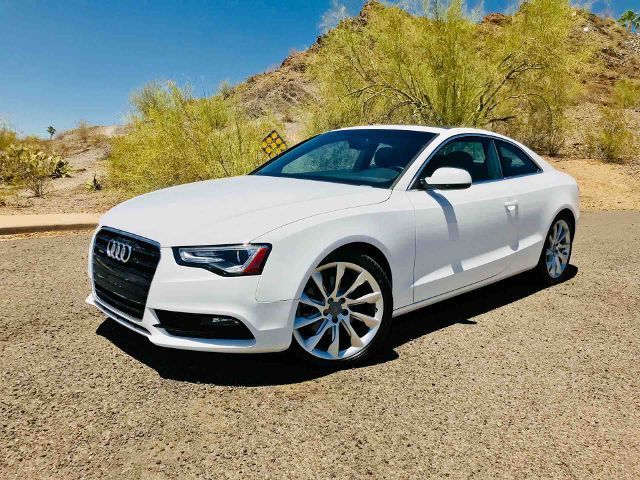 2013 Audi A5 (White/Brown)