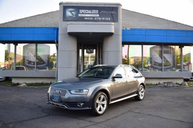 2016 Audi Allroad (Gray/Black)