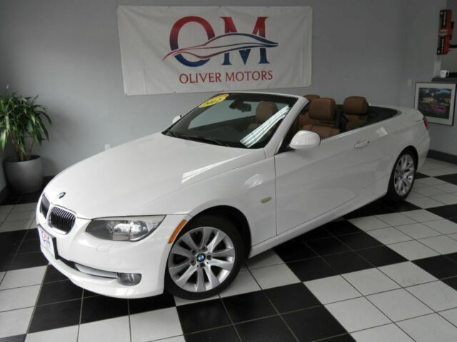 2012 BMW 3-Series (White/Saddle)