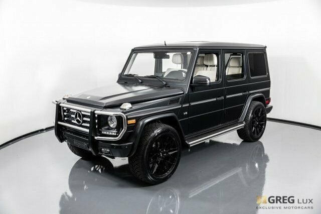 2015 Mercedes-Benz G-Class (Black/designo Porcelain w/Nappa Leather Upholstery)