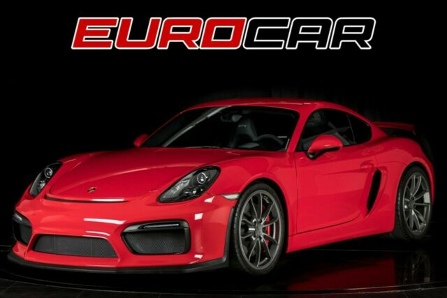 2016 Porsche Cayman (Guards Red/Black)
