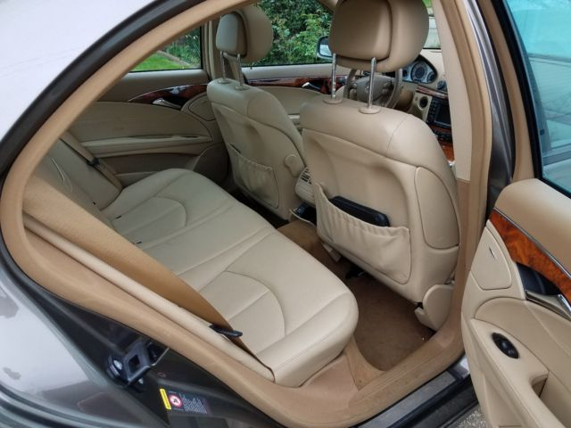 2008 Mercedes-Benz E-Class (Brown/Tan)