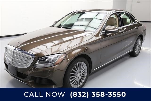 2015 Mercedes-Benz C-Class (Brown/Tan)