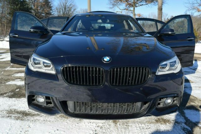 2016 BMW 5-Series (Midnight Blue/BLACK LEATHER)