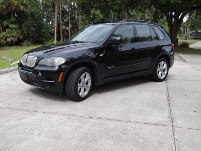 2011 BMW X5 (Black/Beige)