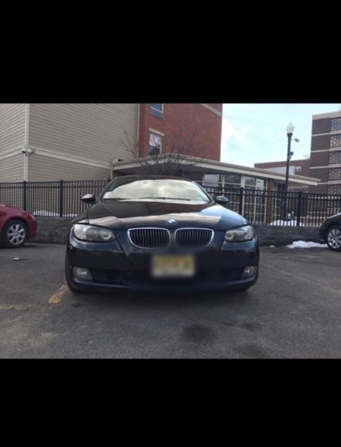 2007 BMW 3-Series (Black/Red)