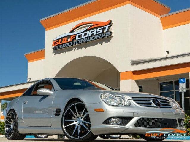 2007 Mercedes-Benz SL-Class (Iridium Silver Metallic/Black)