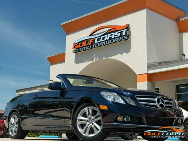 2011 Mercedes-Benz E-Class (Capri Blue Metallic/Almond/Mocha Leather)