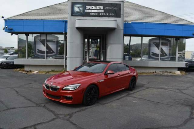 2016 BMW 6-Series (Red/Brown)