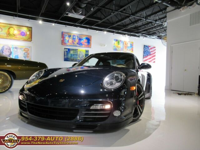 2010 Porsche 911 (Midnight Blue Metallic/Sand Beige)