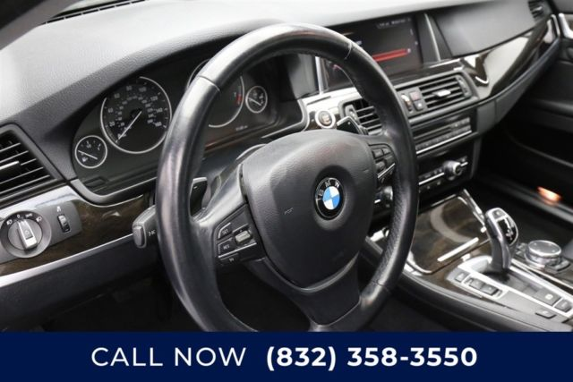 2016 BMW 5-Series (Gray/Black)
