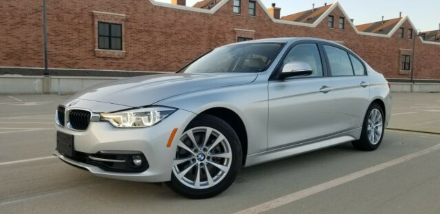 2018 BMW 3-Series (Silver/Tan)