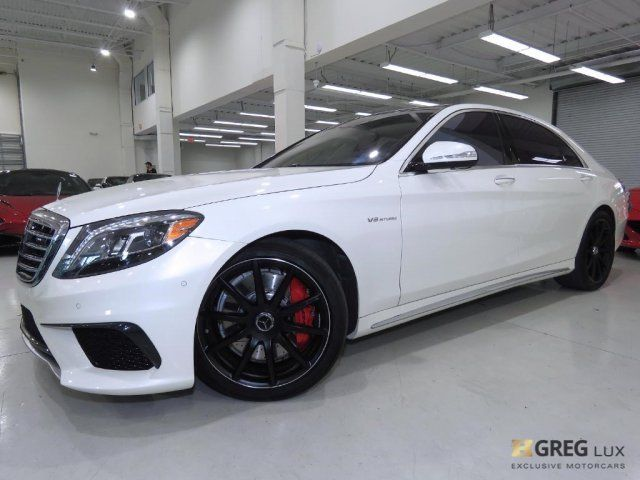 2016 Mercedes-Benz S-Class (White/Black)