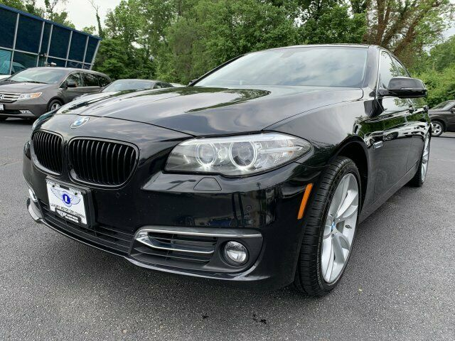 2015 BMW 5-Series (Black/--)