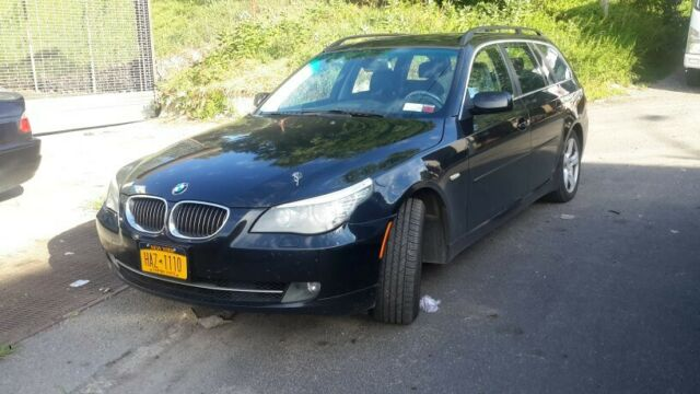 2008 BMW 5-Series (Black/Black)