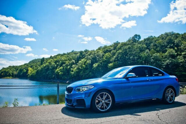 2016 BMW 2-Series (Blue/Black)