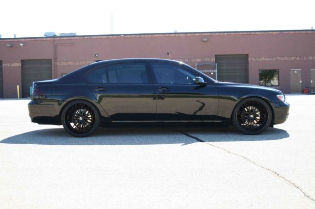 2008 BMW 7-Series (Black/Black)