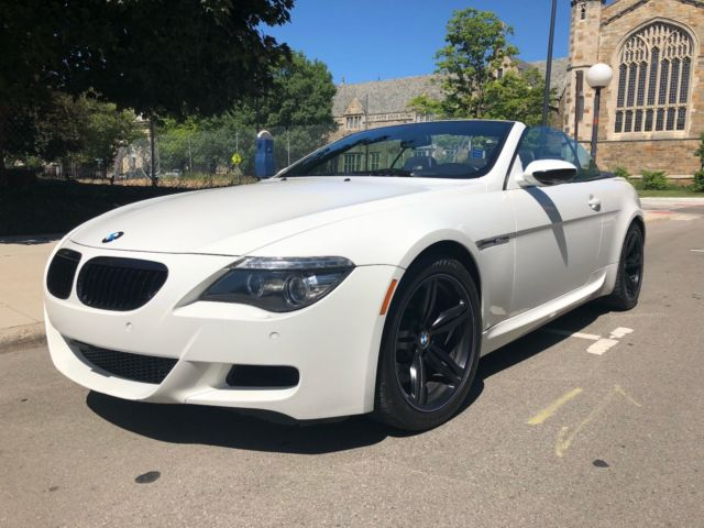 2008 BMW M6 (Alpine White/Black Merino leather interior)