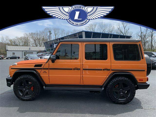 2016 Mercedes-Benz G-Class (Sunsetbeam/--)