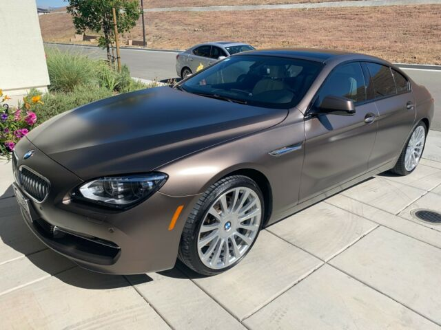 2013 BMW 6-Series (Frozen Bronze Metallic Matte/Piano Black and Opal)