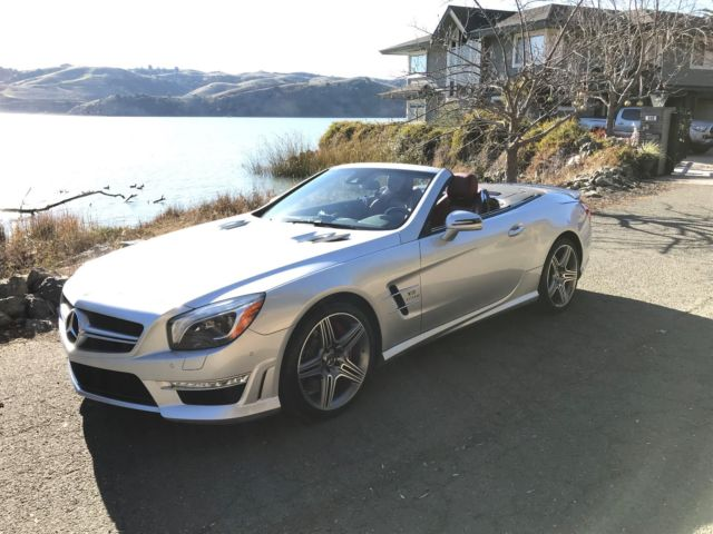 2013 Mercedes-Benz SL-Class (Silver/Red)