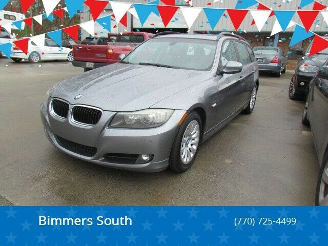 2009 BMW 3-Series (Silver/Gray)