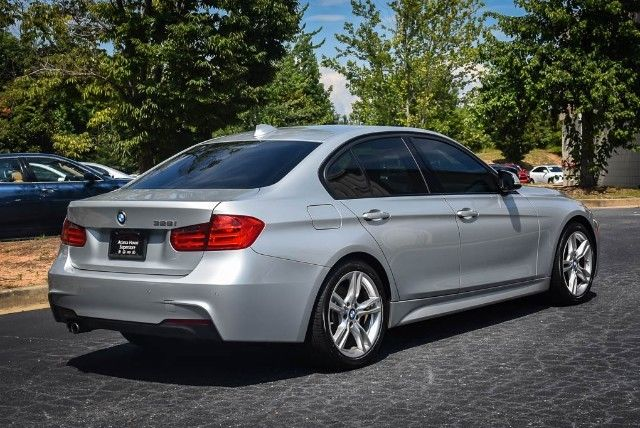 2015 BMW 3-Series (Silver/Gray)