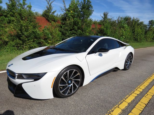 2015 BMW I8 White Gray