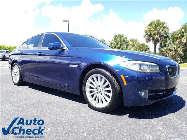 2011 BMW 5 Series Blue