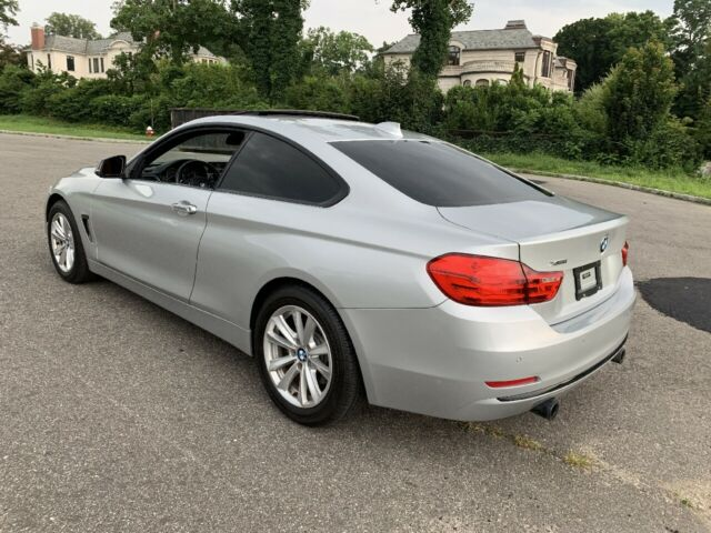 2014 BMW 4-Series (Silver/Red)