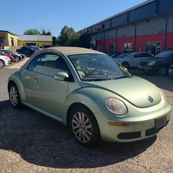 2008 Volkswagen Beetle-New (Green/Tan)
